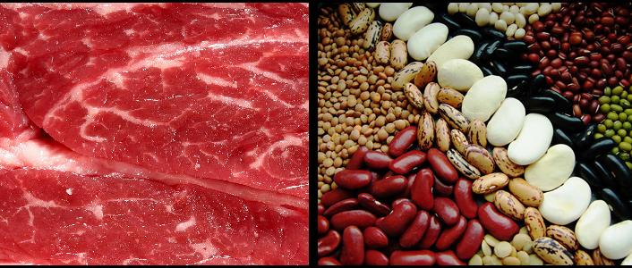 Comment remplacer la viande de nos assiettes le palais - Comment couper de la viande congelee ...
