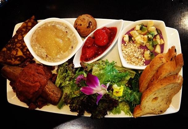 Un exemple de repas végétarien