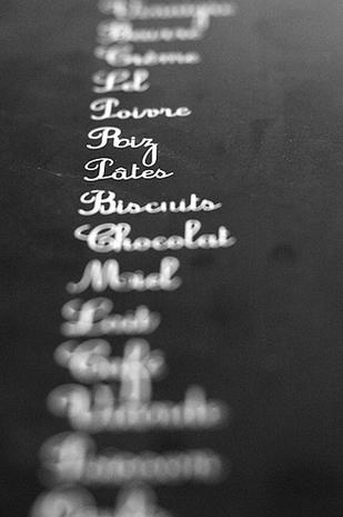 liste courses
