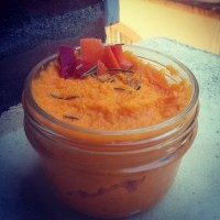 Mousse de carotte au gingembre