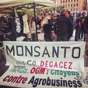 Manifestations CONTRE Monsanto