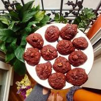 Cookies bonheur tout chocolat (vegan)